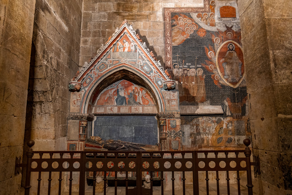 Chapel of Saint Martin in the Old Cathedral of Salamanca