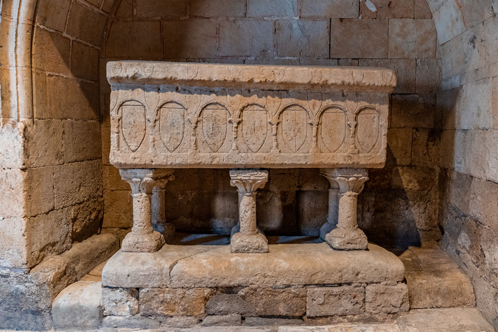 Salamanca Old Cathedral interior