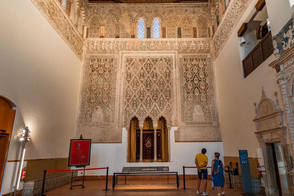 Synagogue of El Transito interior