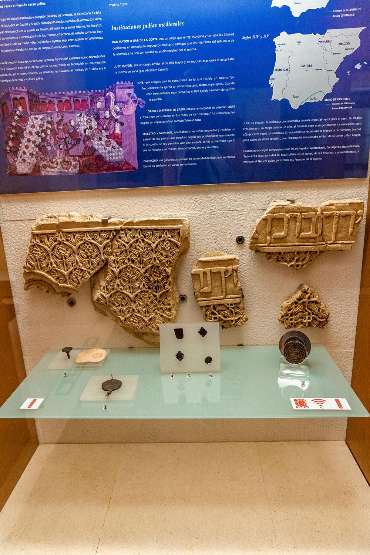 Artifacts at Toledo Sephardic museum