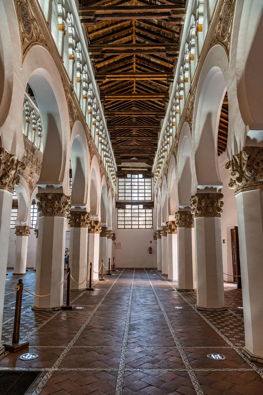 Synagogue of Santa Maria la Blanca interior