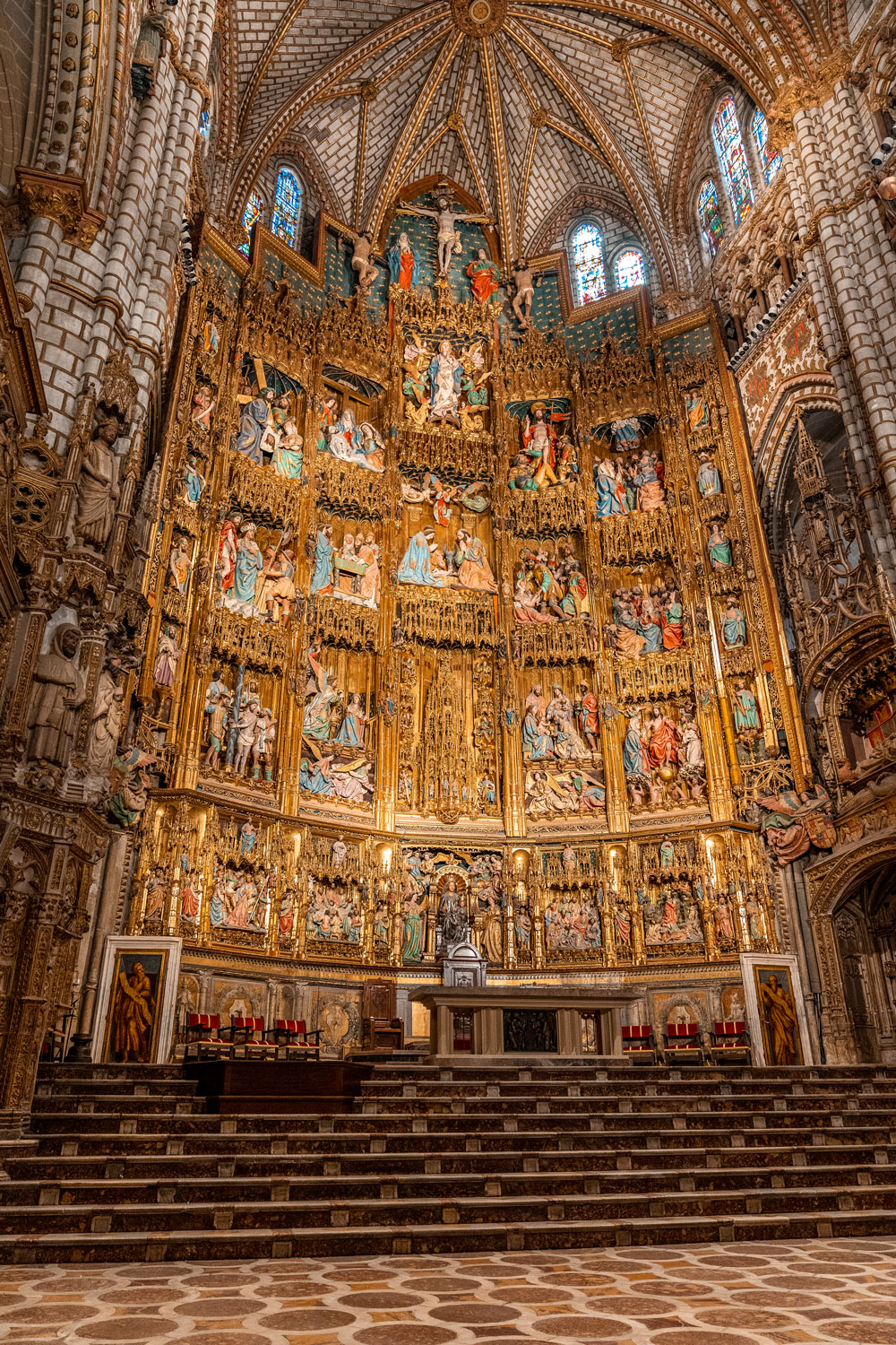 Altar of the Toledo Cathedral