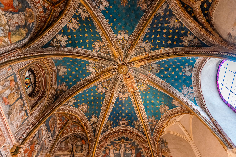 Ceiling of the Toledo cathedral