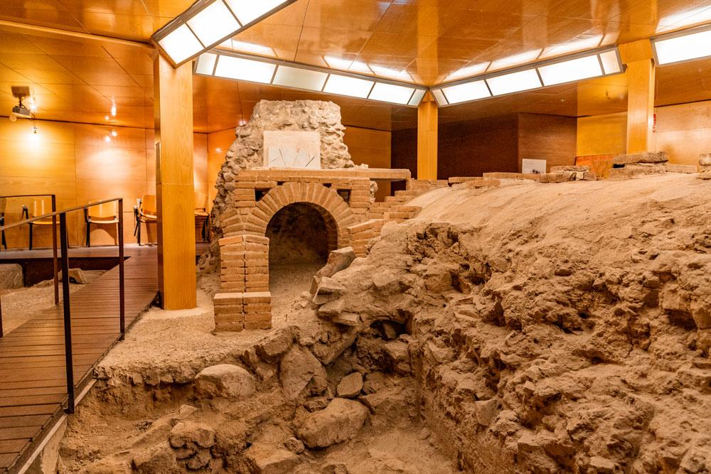 Roman baths in Toledo