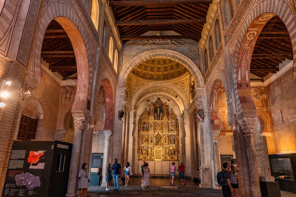 Toledo Visigoth councils and culture museum interior