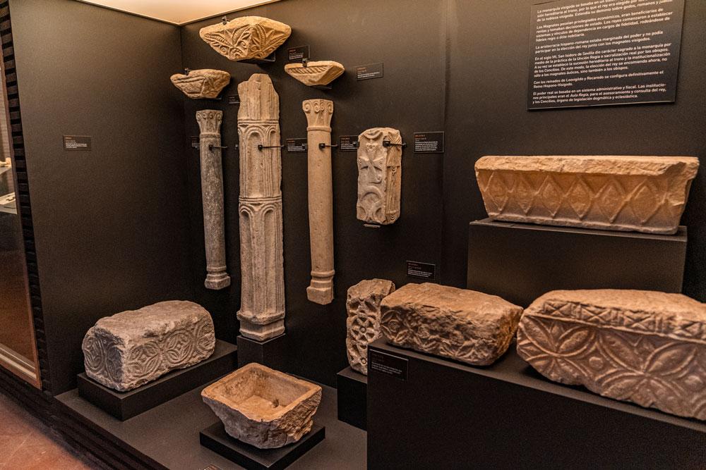 Artifacts Toledo Visigoth museum