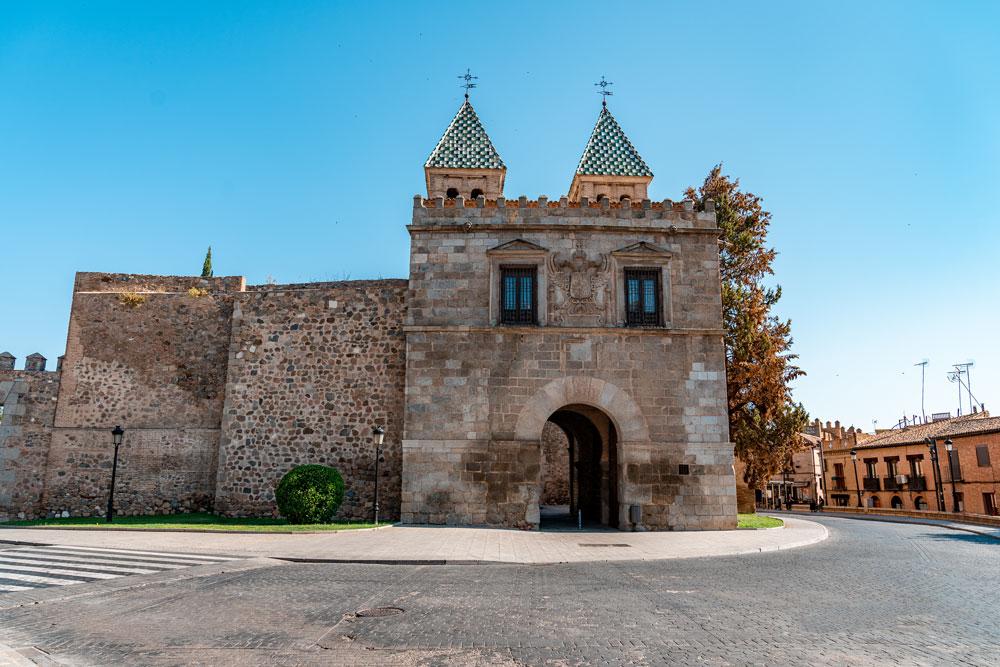 Bisagra gate at the Toledo city entrance