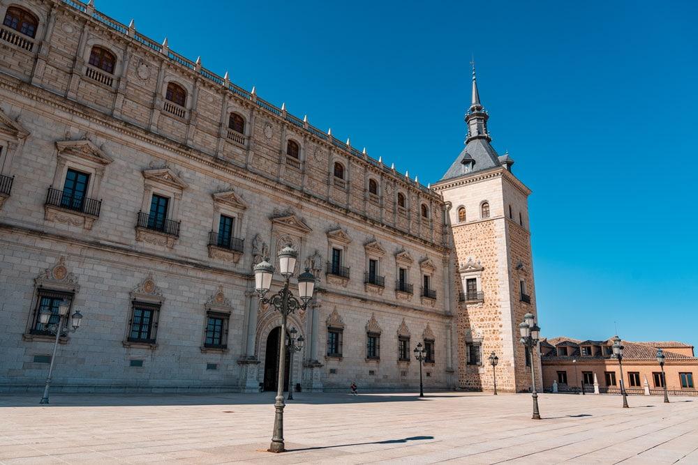 Alcazar de Toledo fortress tower