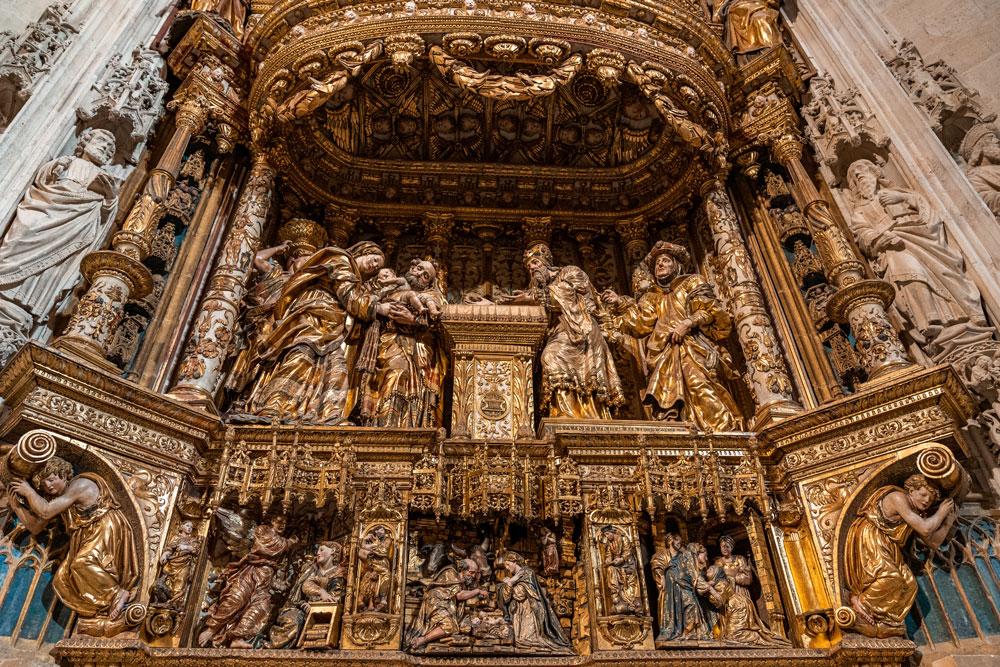 Constables Chapel Burgos Cathedral