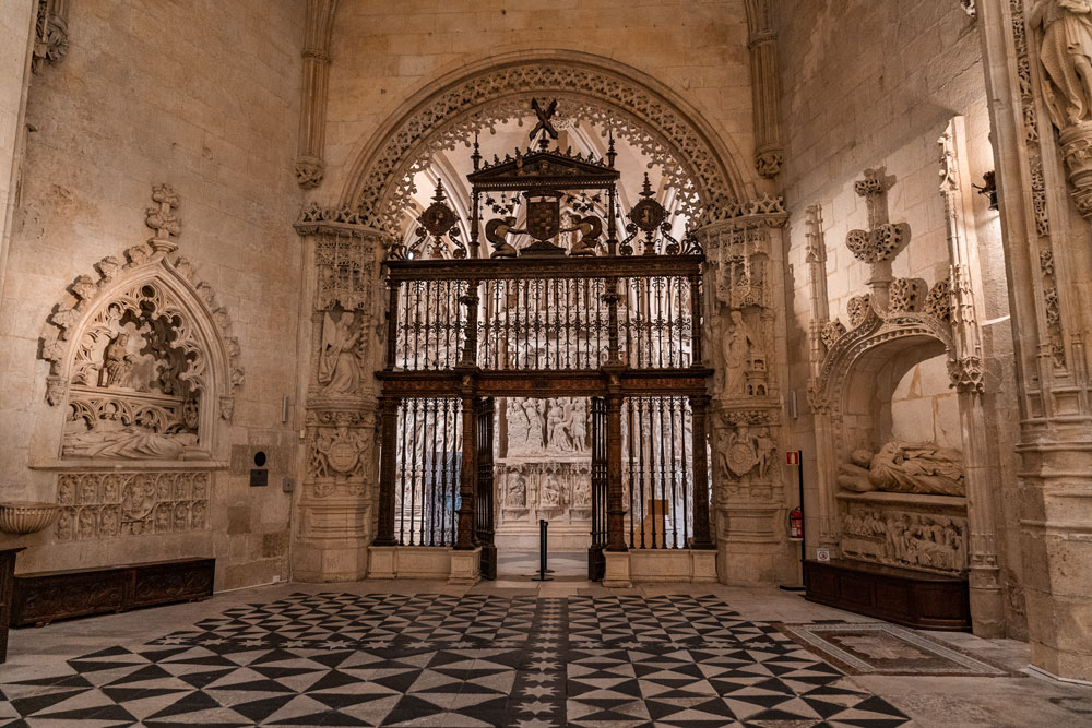 Interior of the Cathedral - Constables Chapel