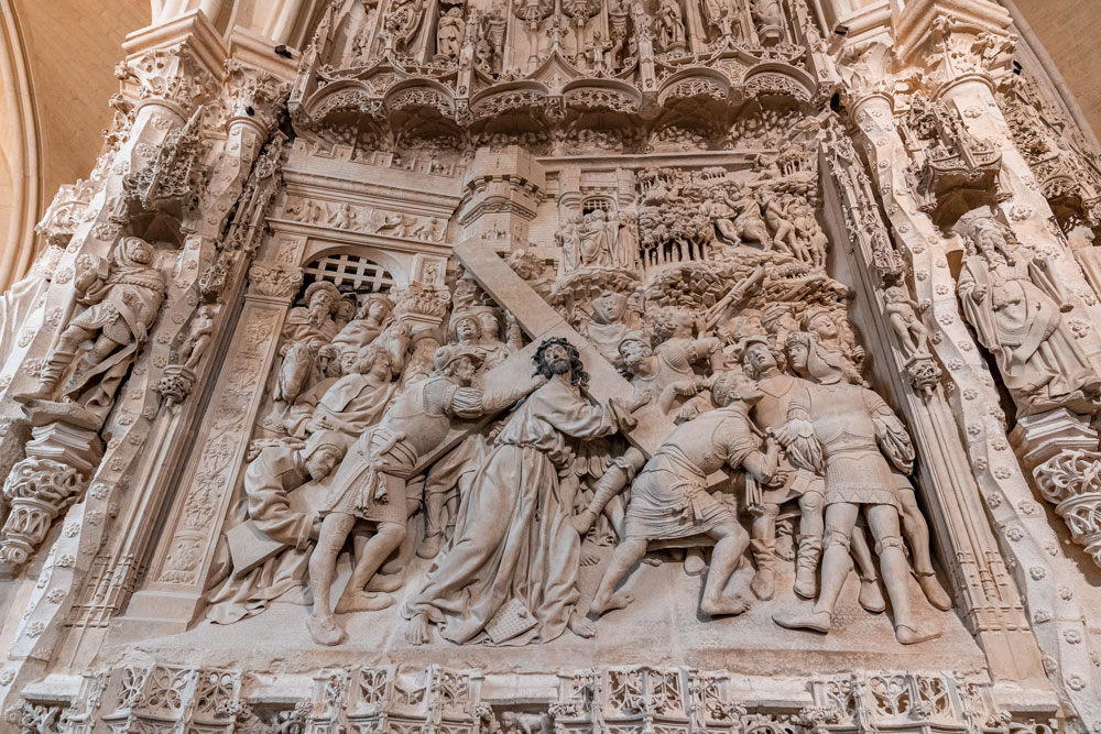 Reliefs in Burgos Cathedral