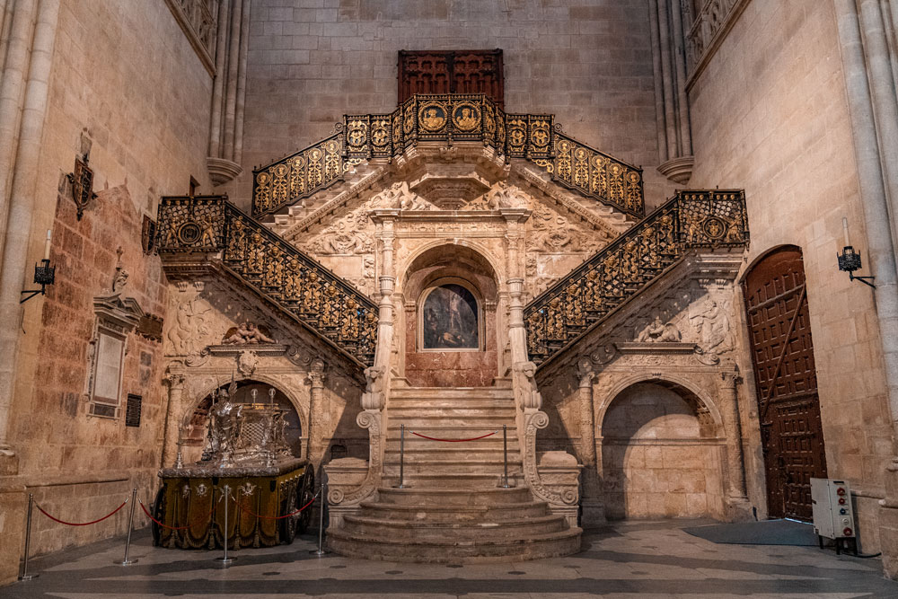 Cathedral Golden Staircase