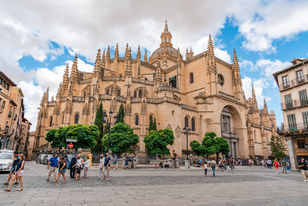 Gothic-style Segovia Cathedral