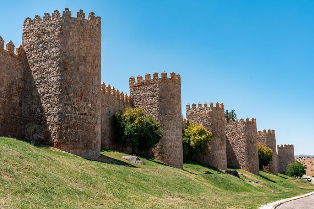 Avila well-preserved medieval walls