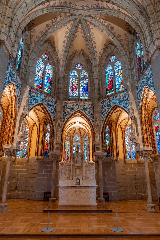 Palace of Gaudì Astorga Interior
