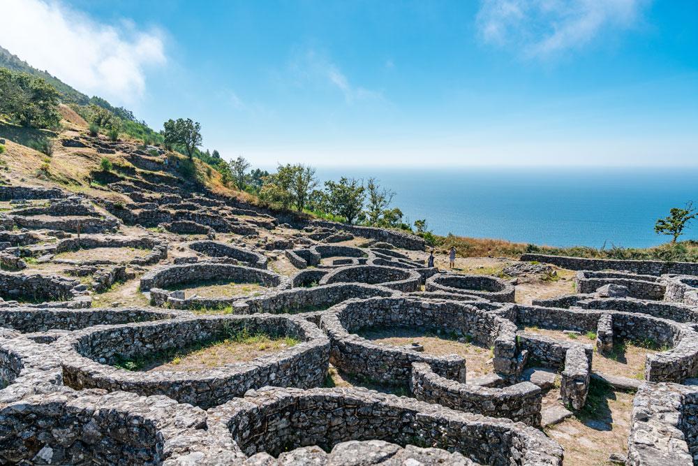 Galician archaeological site Castro de Santa Trega