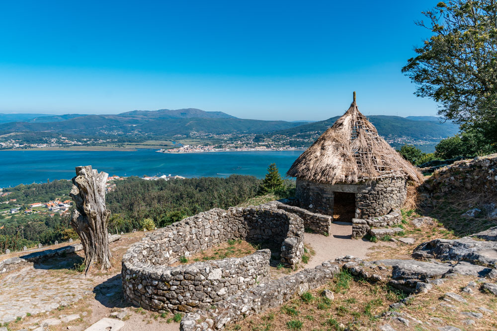 Ancient Celtic Settlement in Galicia, Spain