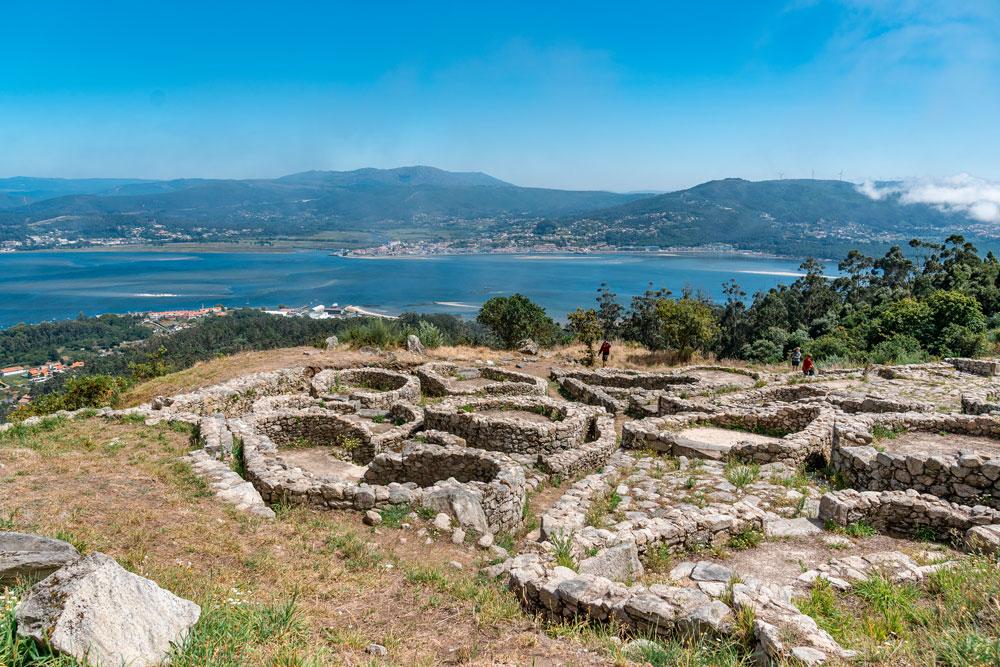 Castro de Santa Trega Archealogical Ruins