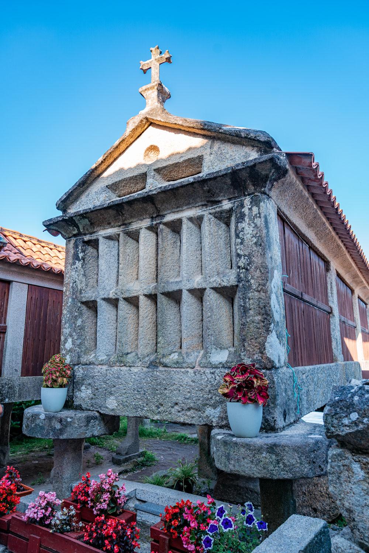 Historical Granary at Combarro, Galicia
