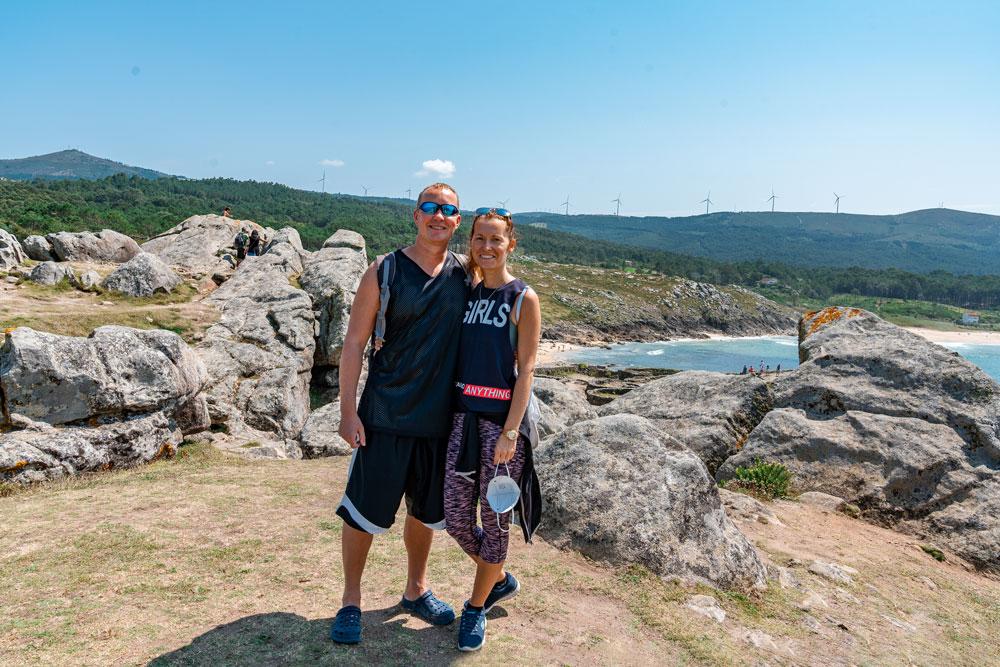 Our visit to Castro de Barona