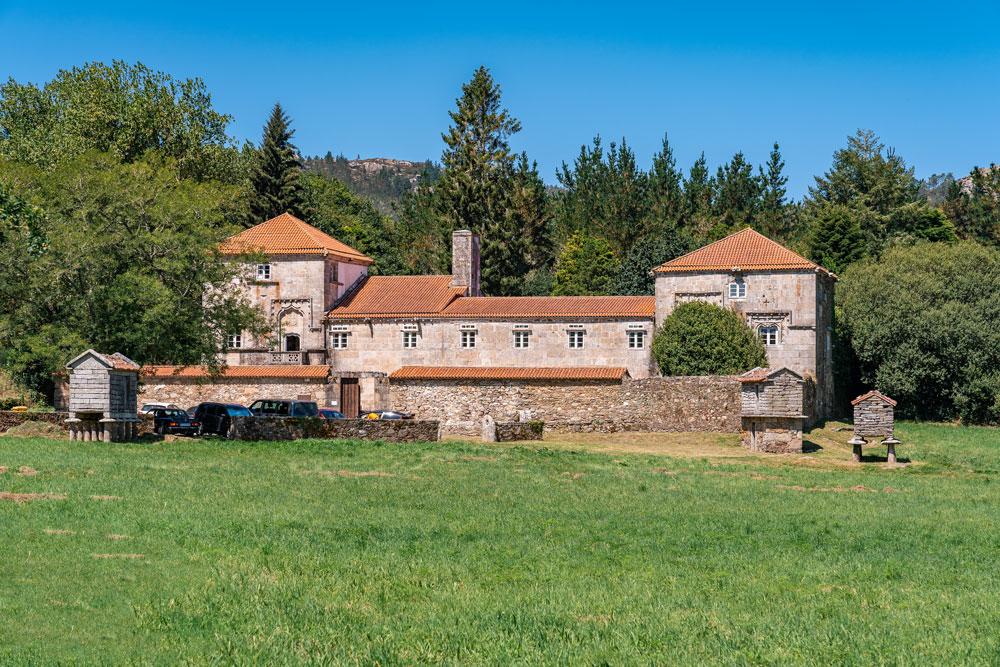 First Galician manor house Torres de Allo