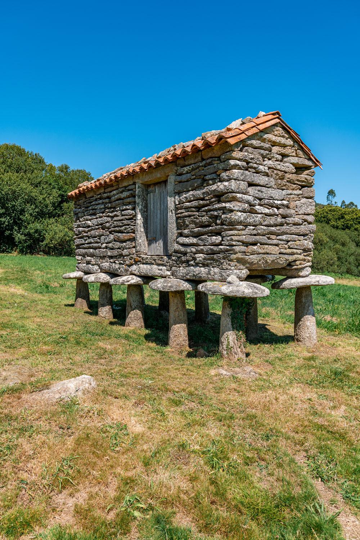 Galician Stone Granaries