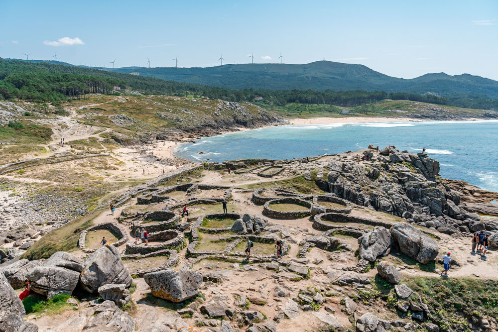 Iron Age fortified settlement in Castro de Barona