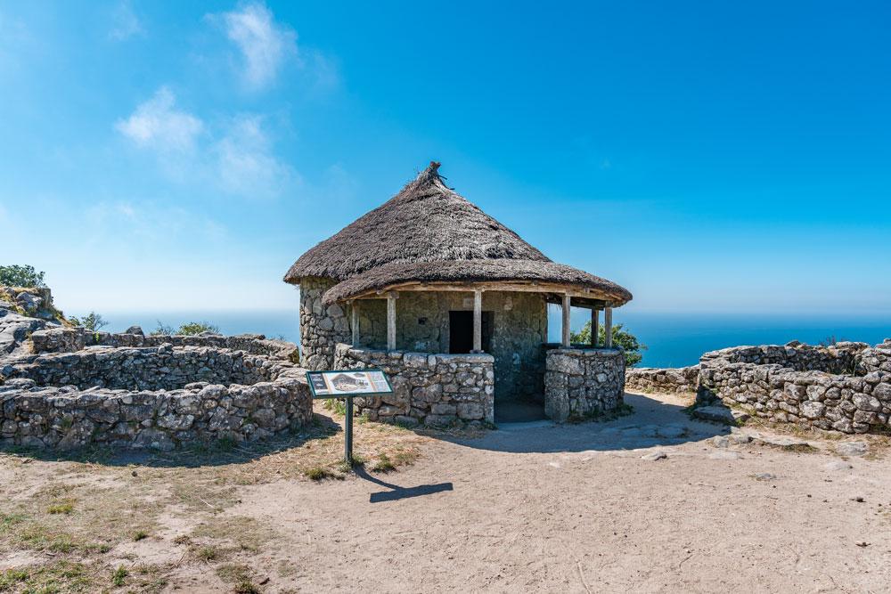 Castro de Santa Trega Ancient Celtic Settlement