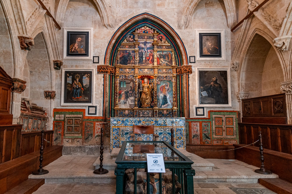 Interior of the Old Cathedral of Salamanca