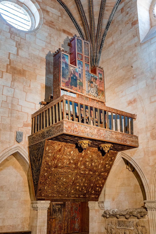 Wooden Organ at the Old Cathedral, Salamanca