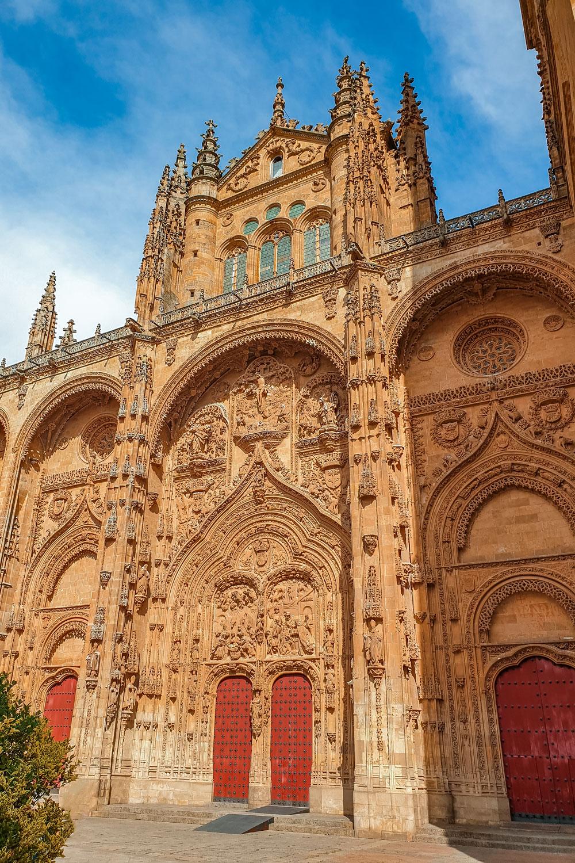 Salamanca Cathedral Exterior Doors
