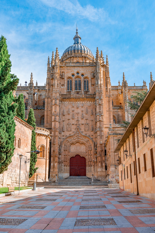 Beautiful Historical Building, Salamanca Cathedral