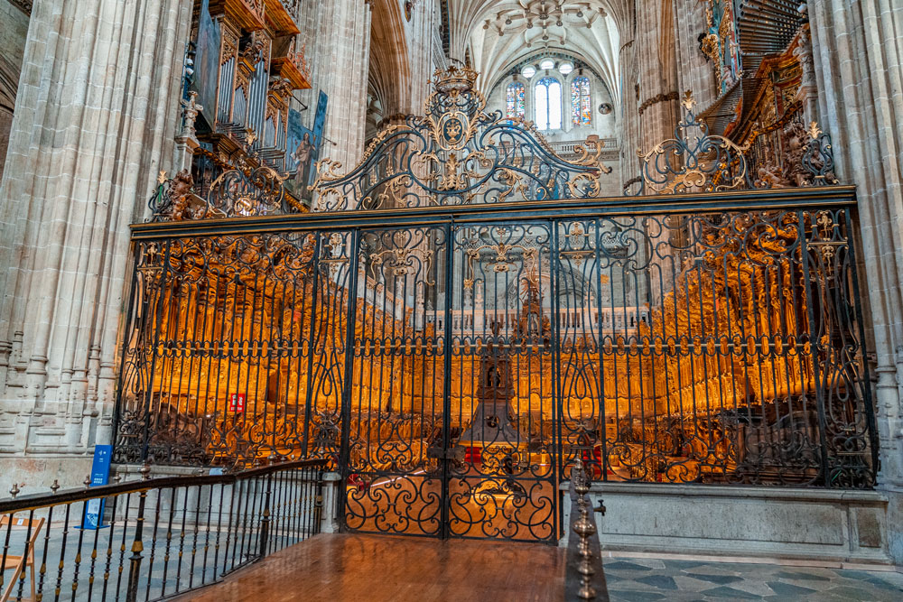 Choir of the New Cathedral, Salamanca