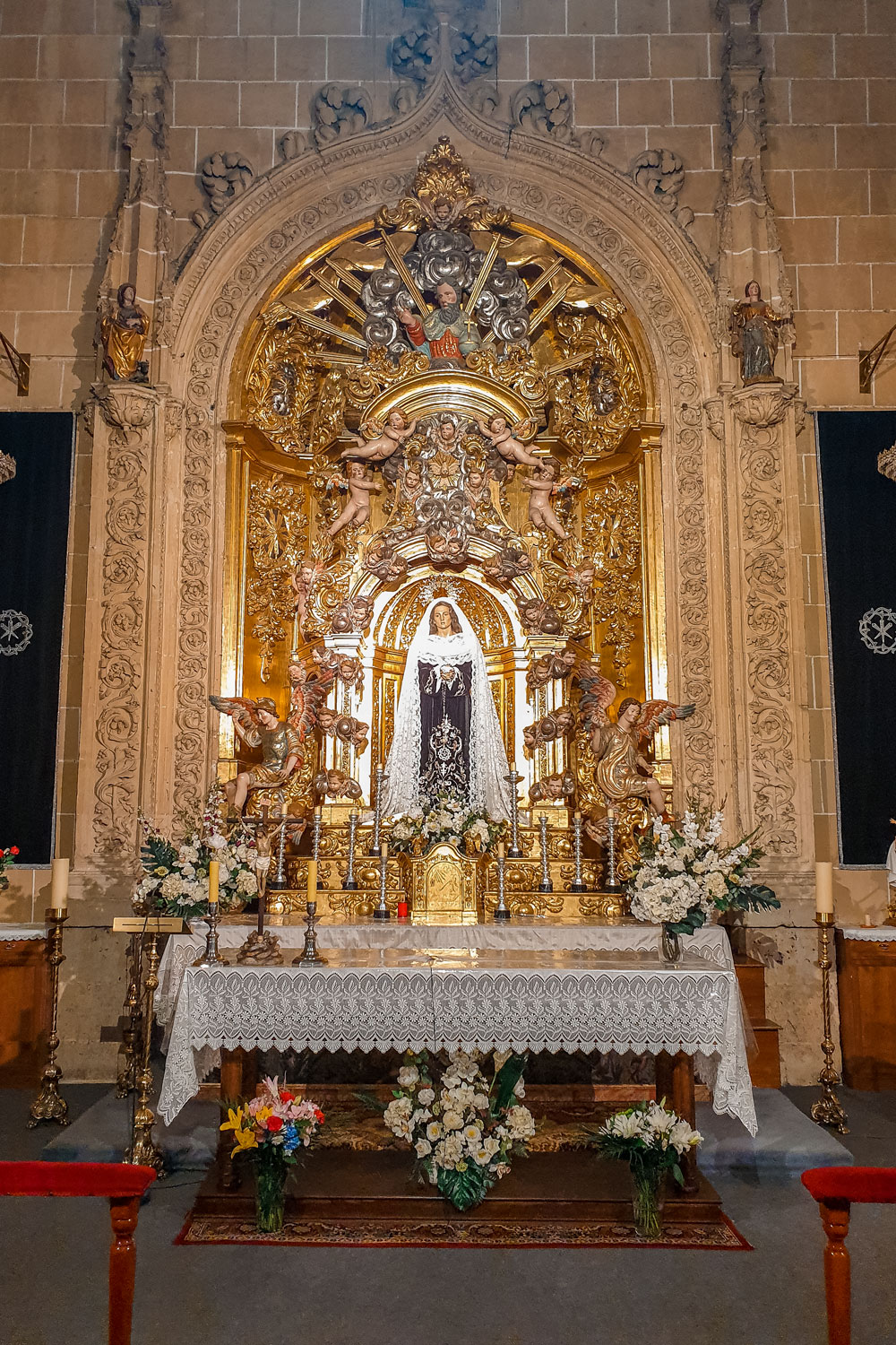 Interior of the New Cathedral of Salamanca