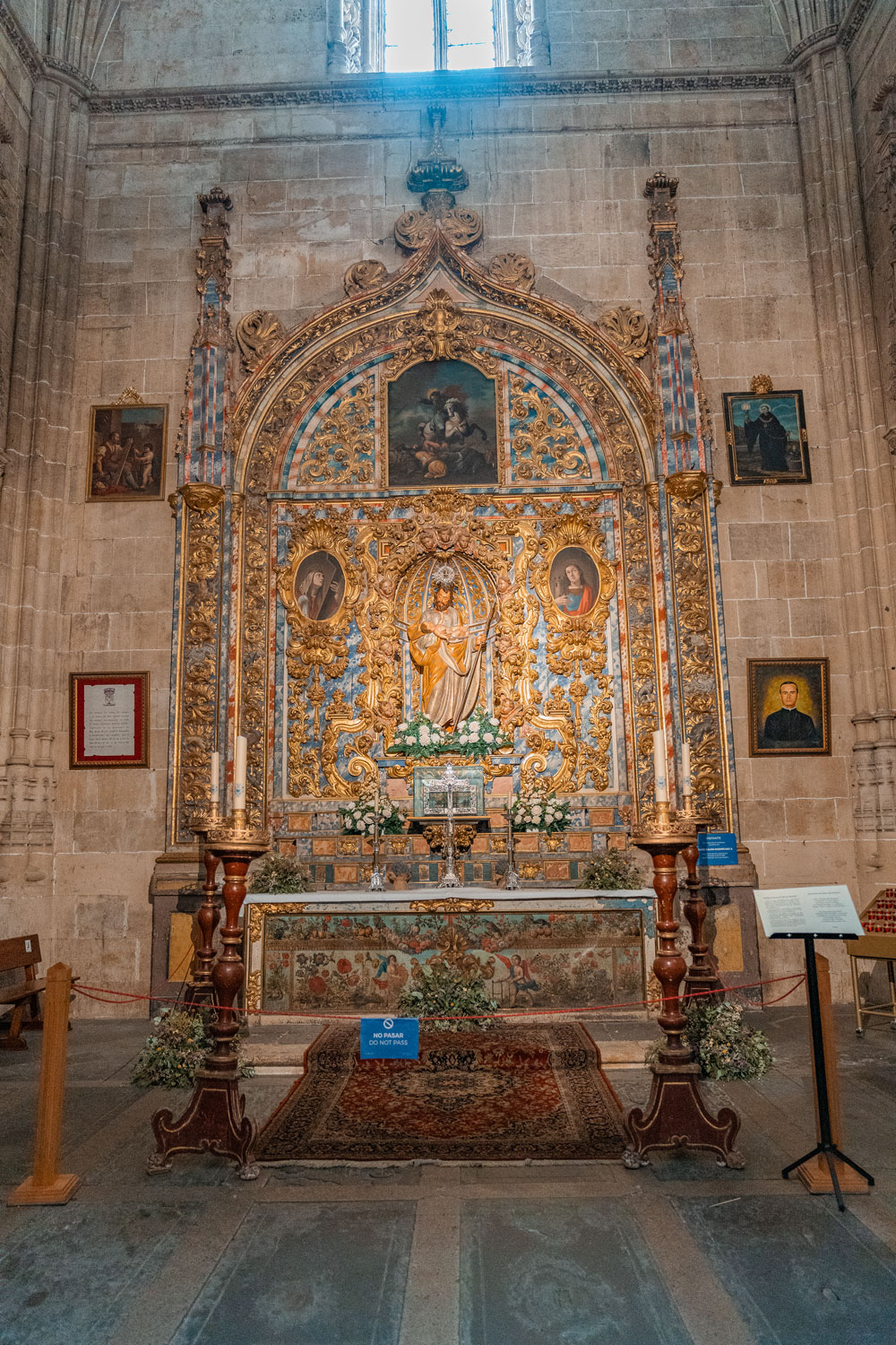 Interior of the New Cathedral, Salamanca