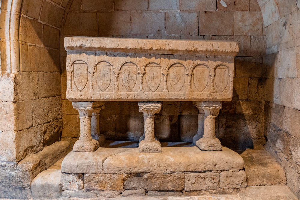 Tomb in Salamanca Old Cathedral