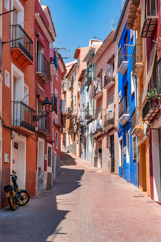Villajoyosa Colorful Streets