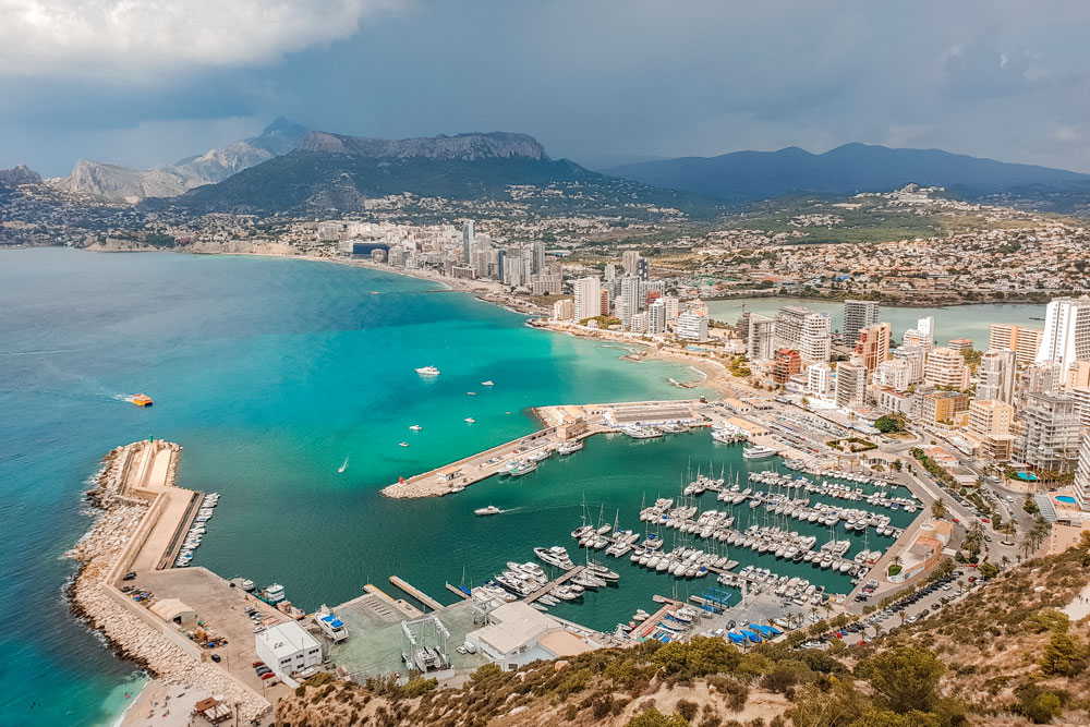 View from Calpe Rock