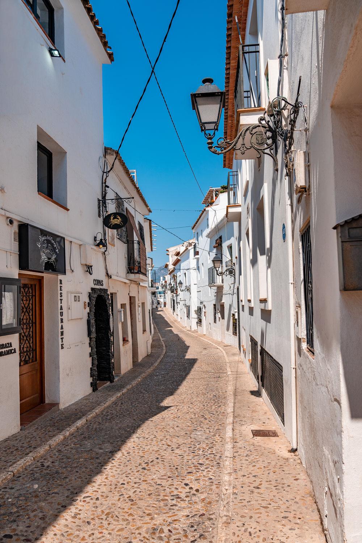 Altea Streets