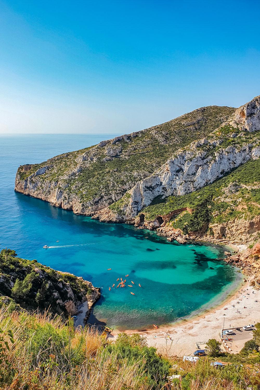 Granadella Beach near Javea, Spain