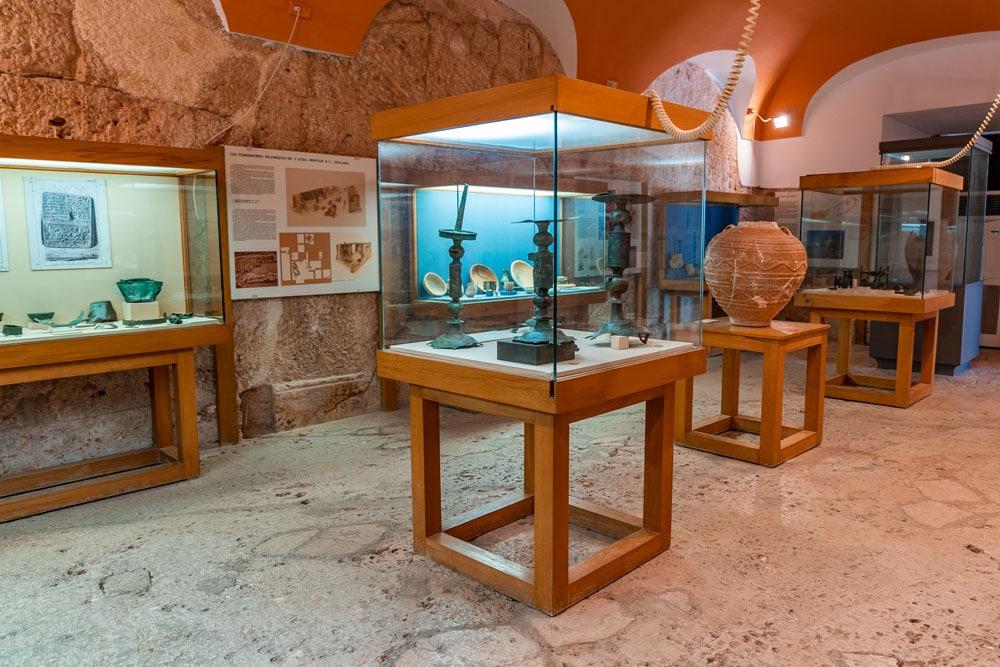 Denia Castle Museum Interior