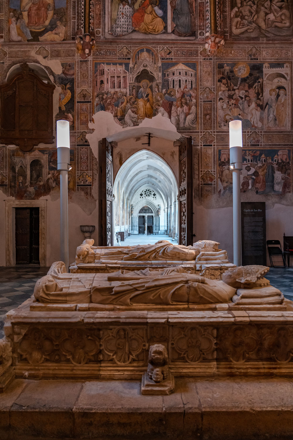 Tombs at the Chapel of Saint Blaise