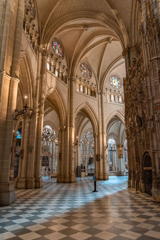 Interior of Toledo Cathedral