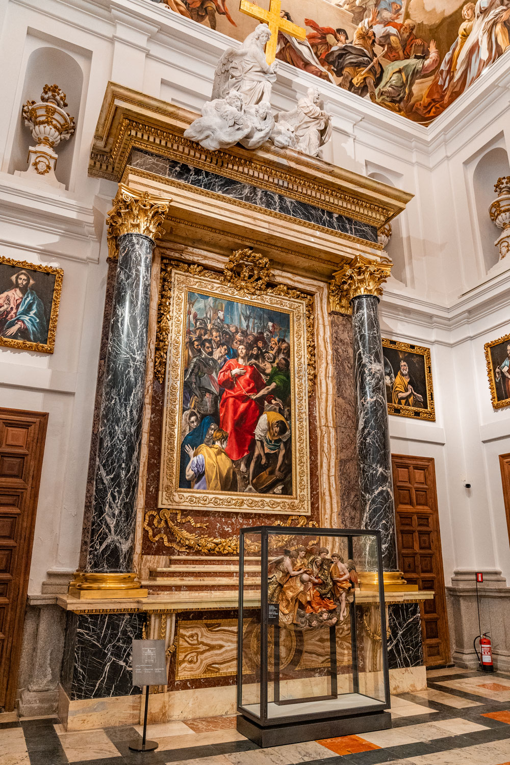 El Greco painting at the Cathedral